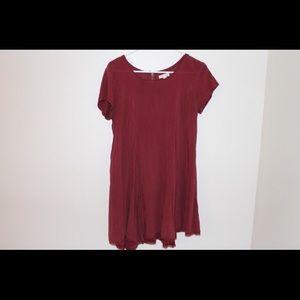 UO Maroon Dress